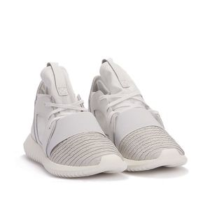 Adidas Tubular Defiant in Crystal White
